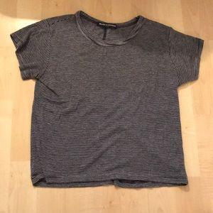 Blue soft t shirt